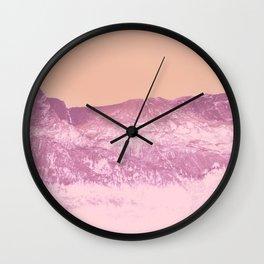 Honey, peaches, darling, baby Wall Clock