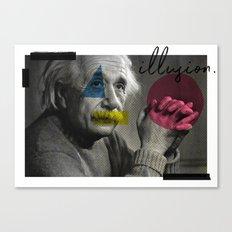 illusion. Canvas Print