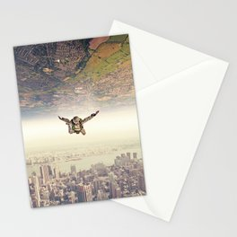 Diving to the Parallel Worlds Stationery Cards