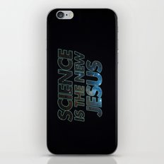 Science is the New Jesus iPhone & iPod Skin