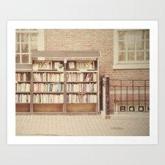 Dollar Books Art Print