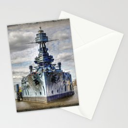 USS Texas Stationery Cards