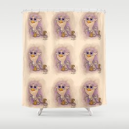 Baby Gryphon! Shower Curtain