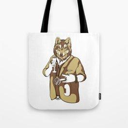 Wolf Man Tote Bag
