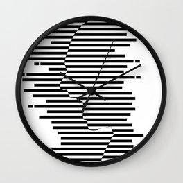 Creative Stripes Shocked Artwork Wall Clock