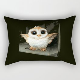 Cute Baby Owl Rectangular Pillow