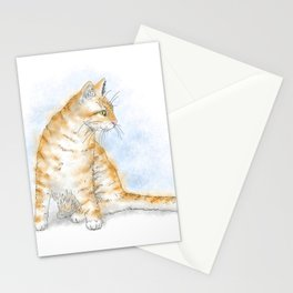 Cat 616 Stationery Cards