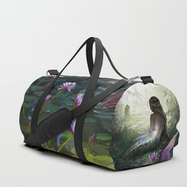 Little mermaid - Lonley siren watching kissing couple Duffle Bag