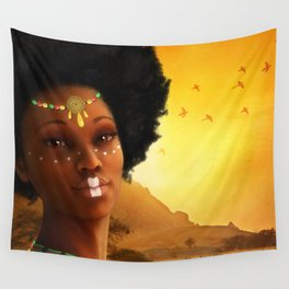 African Princess Wall Tapestry