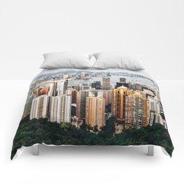 As Seen From Victoria Peak Comforters