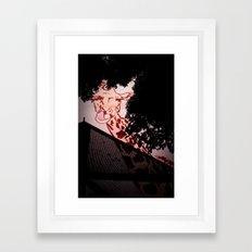 giraffiti Framed Art Print