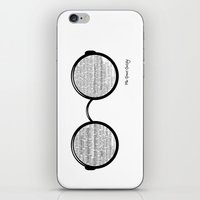 martell iPhone & iPod Skins featuring The Great Gatsby by Sophie Martell