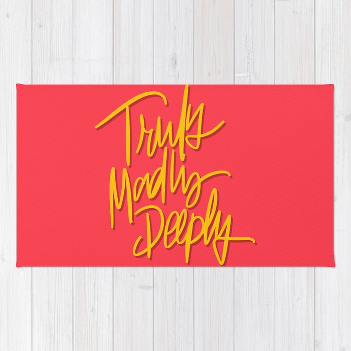 Truly Madly Deeply Rug