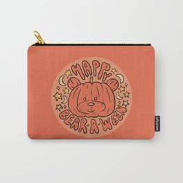 Happy Bear-A-Ween Carry-All Pouch