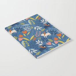 Cats & Flora Notebook