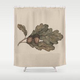 Acorns Shower Curtain