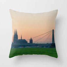 COLOGNE 15 Throw Pillow