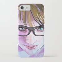 sarah paulson iPhone & iPod Cases featuring Sarah by Marc Scheff