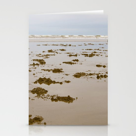 In Search of Razor Clams Stationery Cards