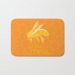 Bee You Tiful  Bath Mat