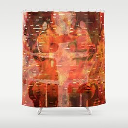 Been There Done That < The NO Series (Brown) Shower Curtain