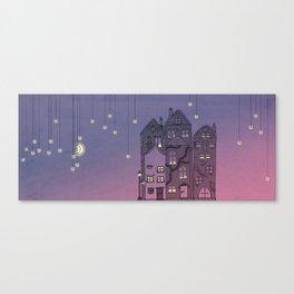 Midnight Teaparty Canvas Print