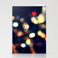 the lights Stationery Cards featuring Lights  by sasan p