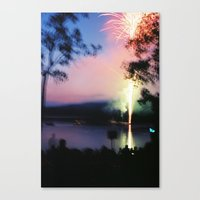 camp Canvas Prints featuring camp by Michael Jack