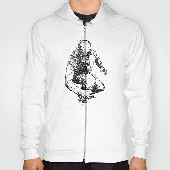 Trouble Will Find You, Always (Black/White Version) Hoody