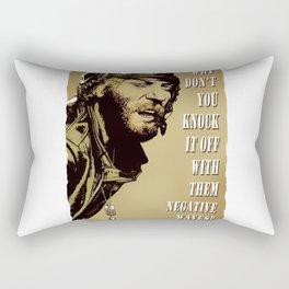 Kellys Heroes -  Odball Says Rectangular Pillow