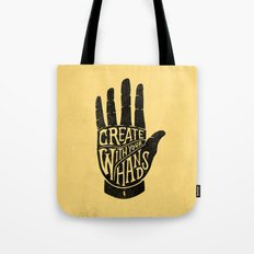 CREATE WITH YOUR HANDS Tote Bag
