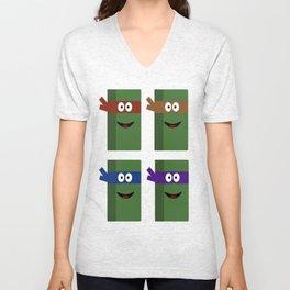 Ninja Turtles Unisex V-Neck