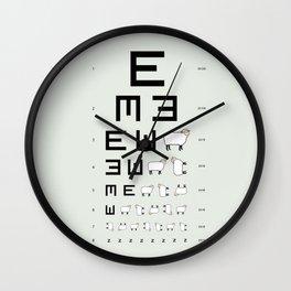 The EWE Chart Wall Clock