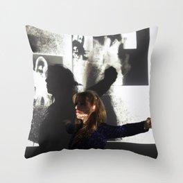 DropArt & Shirly @BYOB TelAviv #03 Throw Pillow