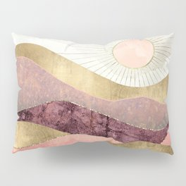 Blush Sun Pillow Sham