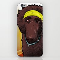 poodle iPhone & iPod Skins featuring Hobbes (poodle) by BinaryGod.com
