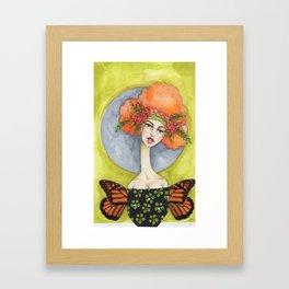 Jenny Manno Original Watercolor Framed Art Print