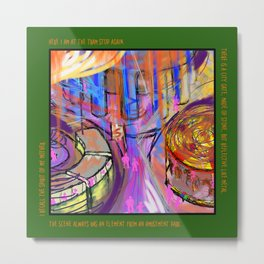 Circle Gateway Dream Metal Print