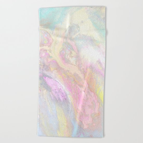 Pastel Iridescent Beach Towel