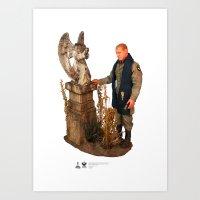 One Sixth Custom Figure 12 Art Print