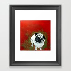 He Said I Did What!?! Framed Art Print