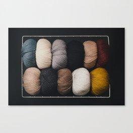 Warm Fuzzy Knits Canvas Print