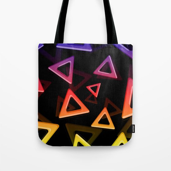 80's Triangles Tote Bag