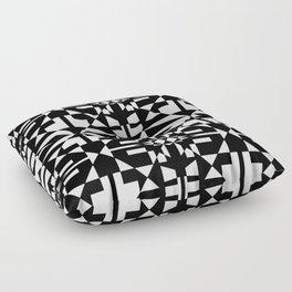 Black and White Tile 5/4/2013 Floor Pillow