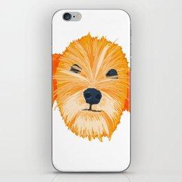 terrier - wht iPhone Skin