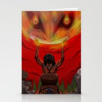 majora Stationery Cards featuring attack on majora! by fangterry