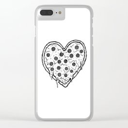 Heart of Italy Clear iPhone Case