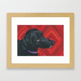 Sally Framed Art Print