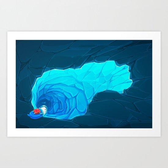 Deep End Art Print