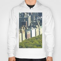 central park Hoodies featuring New York Central Park  by Premium